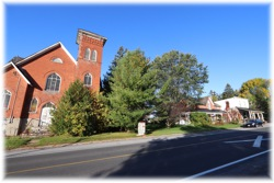 Photo Taken October 11, 2019...the former Morganston United Church and Cobbing Antiques