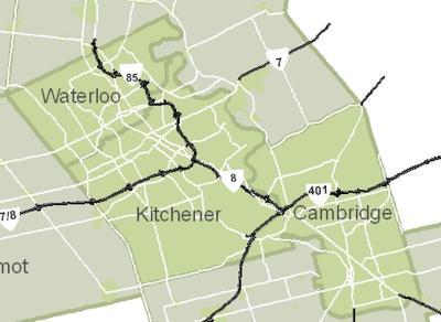 Ontario Rural Routes - Waterloo on